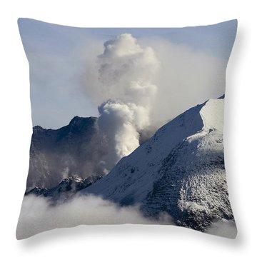 St Helens Rumble Throw Pillow