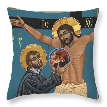 St. Ignatius And The Passion Of The World In The 21st Century 194 Throw Pillow