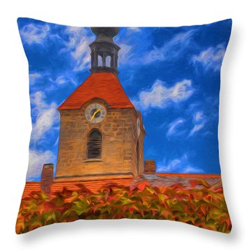 St. Jakobus - Hahnbach Throw Pillow