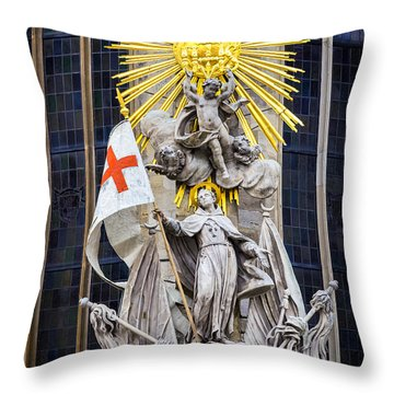 St. John Of Capistrano In Vienna Throw Pillow