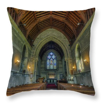 St John The Evangelist Throw Pillow