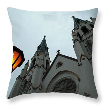 St John's Cathedral II Throw Pillow