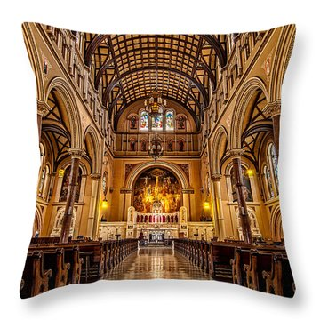St. Joseph Church Throw Pillow