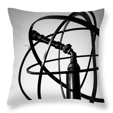 St. Joseph Michigan Water Park Cannon Picture Throw Pillow by Paul Velgos