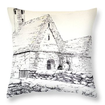 St Kevin's Throw Pillow