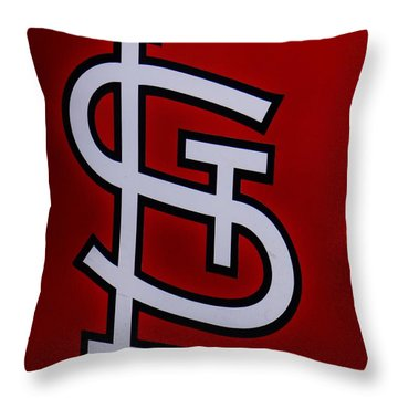 St. Louie Throw Pillow