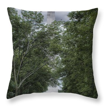 Throw Pillow featuring the photograph St Louis Arch by Lynn Geoffroy