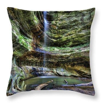 St Louis Canyon Throw Pillow