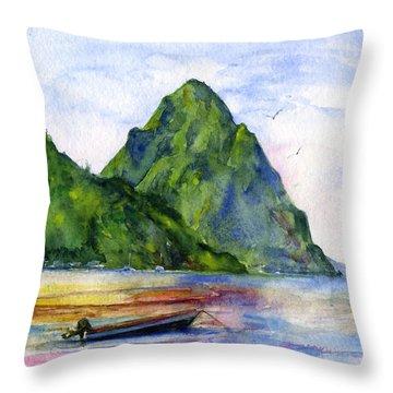 Island Throw Pillows