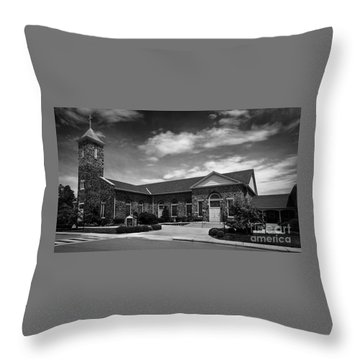 St. Mary Of The Mills Laurel Maryland Throw Pillow