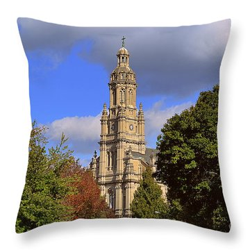 St Mary's Immaculate Conception Church Throw Pillow
