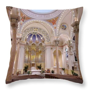 St Marys Throw Pillow