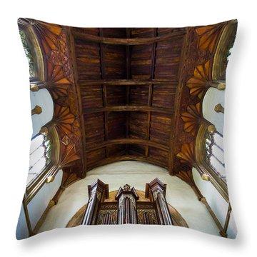 St Michael's Church Framlingham Throw Pillow
