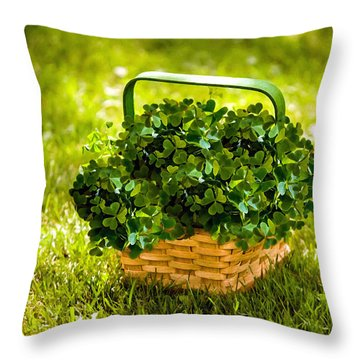St Patricks Day Throw Pillow