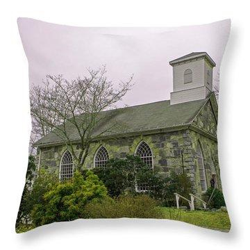 St. Paul Episcopal Church Throw Pillow