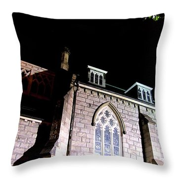 St. Paul's Presbyterian Church Throw Pillow by Danielle  Parent