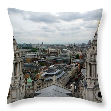 St Paul's View Throw Pillow