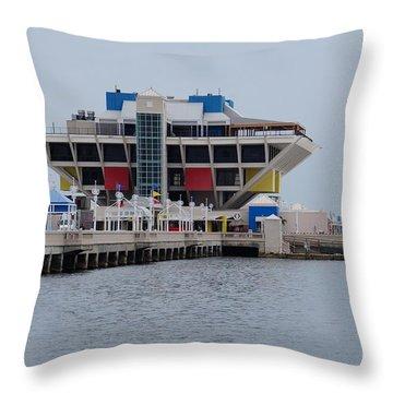 St. Pete Pier Throw Pillow