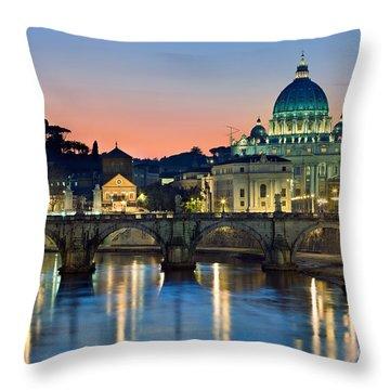 St Peter's - Rome Throw Pillow