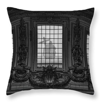 St Peter's Basilica In Vatican Throw Pillow