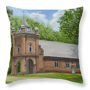 St. Peter's Church Throw Pillow