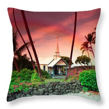 St Peters Church Throw Pillow