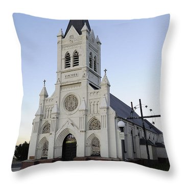 Throw Pillow featuring the photograph St. Peter's by Fran Riley