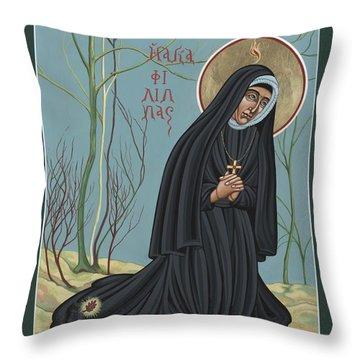 St. Philippine Duchesne 259 Throw Pillow