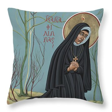 St. Philippine Duchesne 259 Throw Pillow