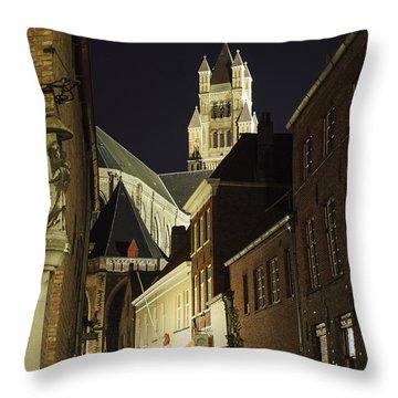 St Saviour Cathedral  Throw Pillow by Adam Romanowicz