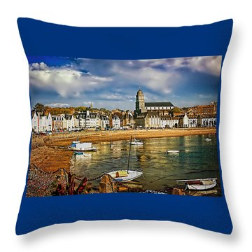 Saint Servan Anse Throw Pillow