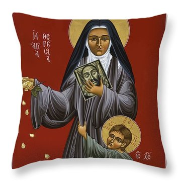 St. Therese Of Lisieux Doctor Of The Church 043 Throw Pillow