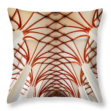 St Thomas Leipzig Throw Pillow