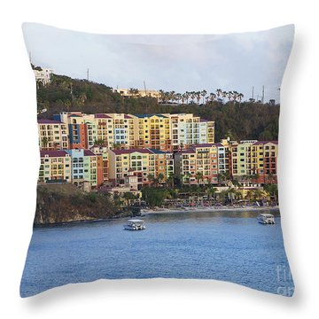 St. Thomas Throw Pillow
