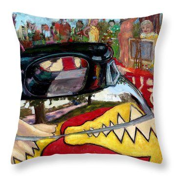 St001 Throw Pillow