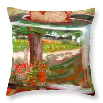 St005 Throw Pillow