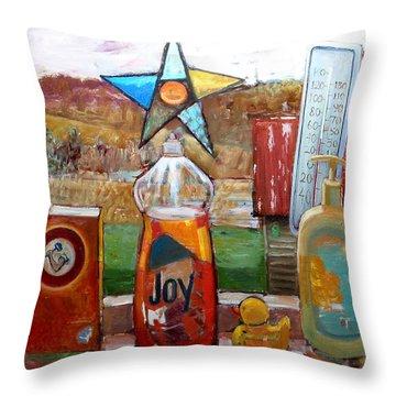 St013 Throw Pillow