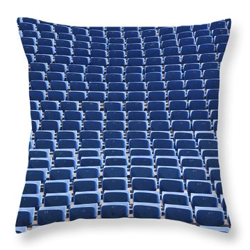 Stadium - Seats Throw Pillow