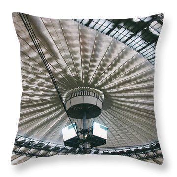 Stadium Ceiling Throw Pillow by Pati Photography