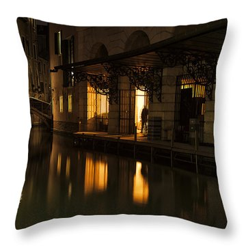 Stage Door Throw Pillow by Marion Galt