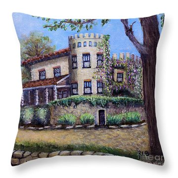 Stags' Leap Manor House Throw Pillow