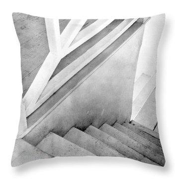 Staircase, Mexico City, C.1924 Throw Pillow by Tina Modotti