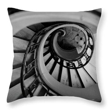 Staircase Throw Pillow by Sebastian Musial