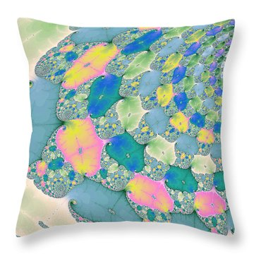 Staircase To Heaven Throw Pillow by Angela A Stanton