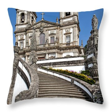 Staircase To Heaven Throw Pillow by Jose Elias - Sofia Pereira