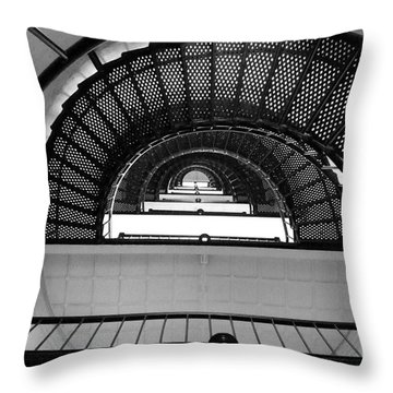 Stairs Throw Pillow by Andrea Anderegg