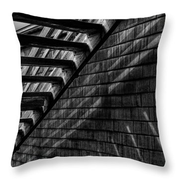 Throw Pillow featuring the photograph Stairs by David Patterson
