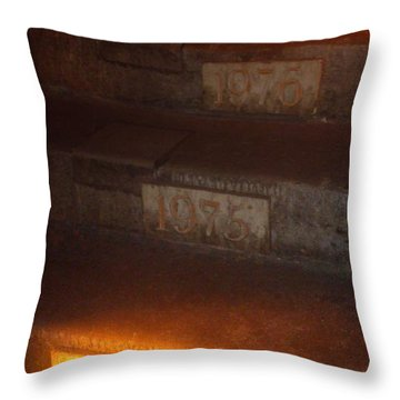 Stairs In Reims Throw Pillow