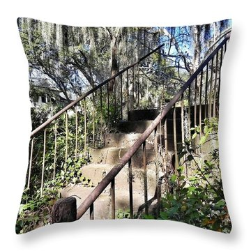 Stairs That Go Nowhere Throw Pillow