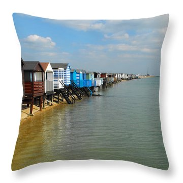 Stairs To Sea Throw Pillow